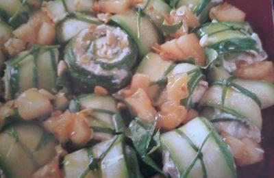 Girelle di  Zucchine al tonno