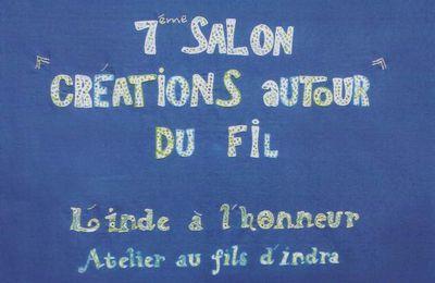 """7ème Salon """"CREATIONS AUTOUR DU FIL"""" à Moncoutant 79320"""