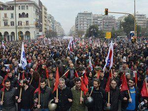 Grèce : à l'appel du syndicat de classe, le PAME, le peuple était dans la rue