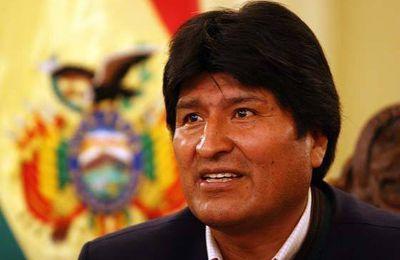 Le président bolivien plaide pour l'unité populaire face à l'offensive néolibérale