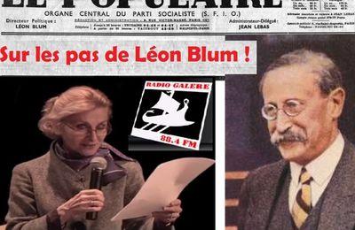 Conférence d'Annie Lacroix-Riz : « Sur les pas de Léon Blum ! » [Radio-Galère]