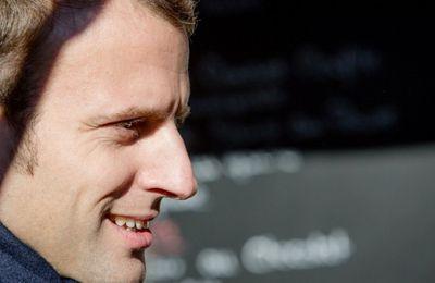 Une des mille et une façons de faire voter Macron (qui comme Fillon est l'homme des Assurances AXA) : celle d'un adversaire supposé qui le choisit...pour faire barrage à Marine Le Pen !