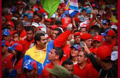 Le peuple reste fidèle à la Révolution Bolivarienne