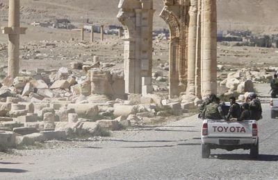 Reprise de Palmyre par l'armée syrienne