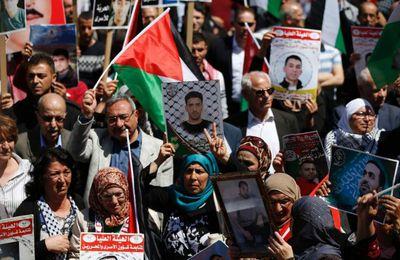GRÈVE de la FAIM des prisonniers politiques PALESTINIENS : La France doit entendre leur appel