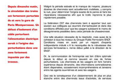 SNCF : remettre la France sur ses rails ! Aujourd'hui, les pannes et les retards avec la privatisation rampante...Hier, la vitesse, l'exactitude et le confort avec le service public, par Jean LEVY