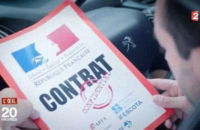 L'accord secret entre l'Etat, signé Macron,  et les sociétés d'autoroutes