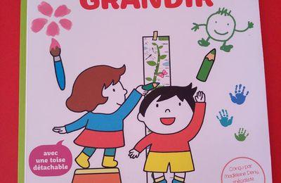 Mon cahier d'activités pour grandir - Editions Nathan