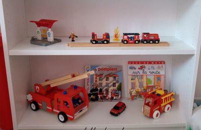 Créer une invitation à jouer sur le thème des pompiers