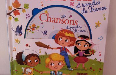 Livre CD de chansons et rondes de France - Editions Lito