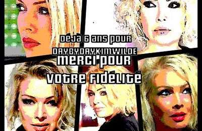 Une 6 ème année pour DAY BY DAY KIM WILDE