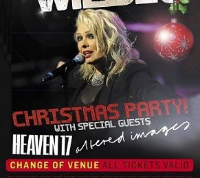 Kim Wilde's Christmas Party du 18/12 déplacée au Coronet Theatre London