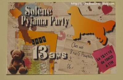 Invitation Digiscrap.
