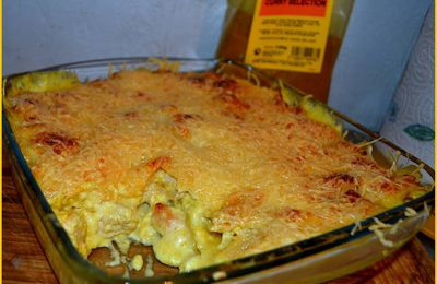 Lasagnes poulet /curry