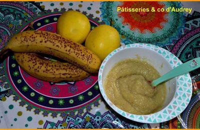 Compote pommes/bananes ( recette pour bébé)