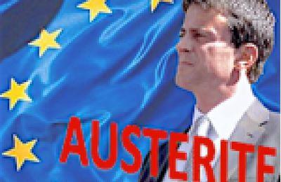 Toujours PLUS D'AUSTÉRITÉ en 2017: Hollande et Valls obéissent à la Commission Européenne
