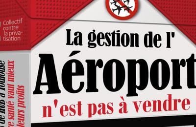 """Le service public du transport aérien bradé par le gouvernement """"socialiste"""""""