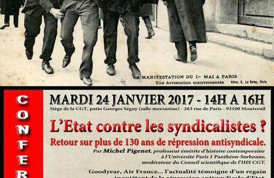 L'État contre les syndicalistes