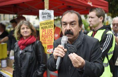 Philippe MARTINEZ (secrétaire général de la CGT) : «Valls, Hamon, Macron, Mélenchon... tous sont loin de la réalité du monde du travail»