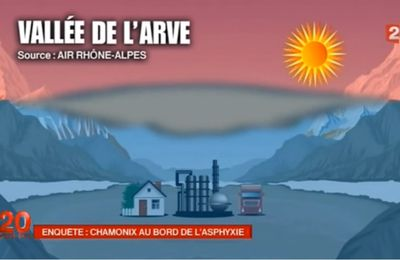 Pollution de la vallée de l'Arve : poser les questions de fond