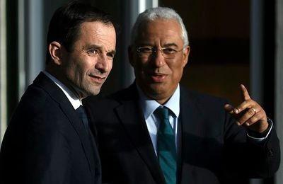 Au Portugal, Benoît HAMON, qui « rêve d'union de la gauche », n'a rencontré ni le principal syndicat, la CGTP, ni le Parti Communiste Portugais...