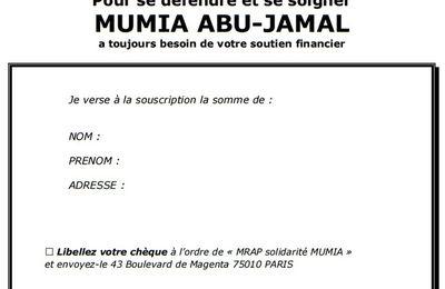 Souscription pour les soins médicaux de Mumia Abu Jamal