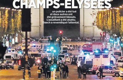 ATTENTAT des Champs-Élysées : un communiqué de la CGT POLICE