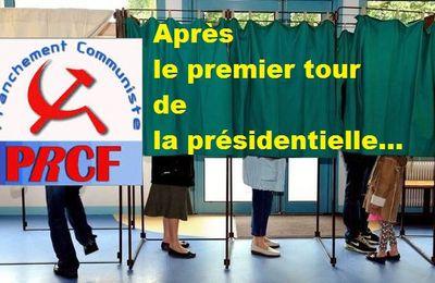Présidentielles : communiqué du PRCF; pas de vote Macron.