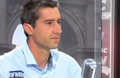 François RUFFIN, député « insoumis » de la Somme sur BFM TV [le 27 juin 2017]