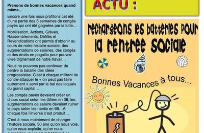 DIEPPE SYNDICAL : le bulletin de l'Union Locale CGT