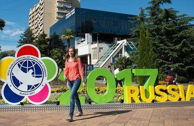 FESTIVAL mondial de la JEUNESSE et des étudiants à Sotchi  en RUSSIE : pour la gauche ou pour tous ?