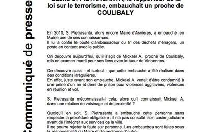 Coulibaly : la mairie d'Asnières accuse