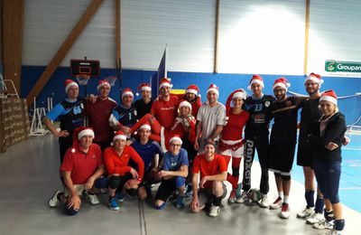 Photo du tournoi de Noël de l'AG Caen