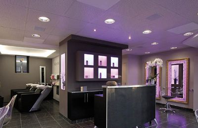 Le salon de coiffure high tech !