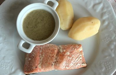 saumon sauce oseille au thermomix