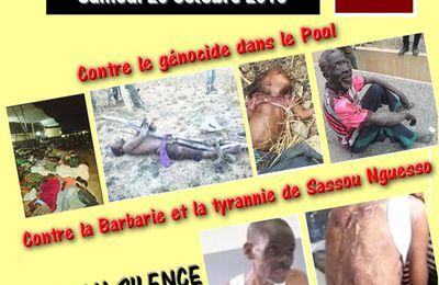 CONGO/DIASPORA/FRANCE : MEETING CE SAMEDI 29 OCTOBRE 2016 A PARIS