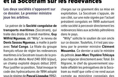 LE CONFLIT TOTAL VS SOCOTRAM REVELE QUE WILLY NGUESSO DETOURNE LES REDEVANCES PUBLIQUES