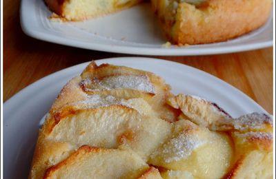 Gâteau sablé aux pommes et figues