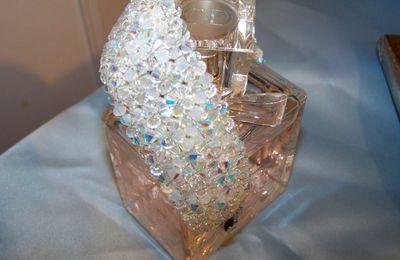 bracelet manchette cristal swarovski cristal AB