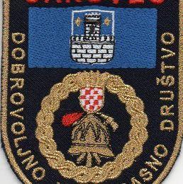 Echange l'écusson des pompiers de CAKOVEC, en Croatie