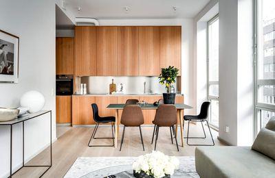 L'élégance sans compromis d'un petit appartement