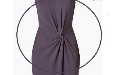 """FAQ : comment faire cette robe """"Drapé retourné"""" pour Isabelle Set..."""
