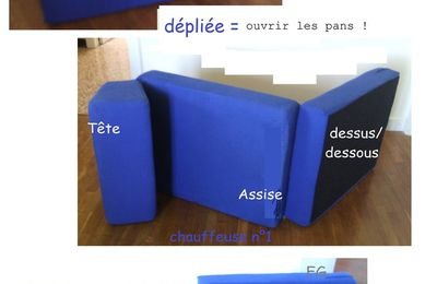 Exemple : Housse chauffeuse n°1