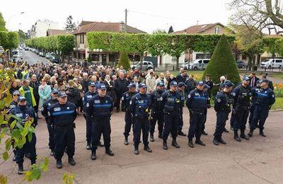 Aulnay-sous-Bois a rendu hommage à Xavier Jugelé, policier assassiné dans un attentat aux Champs Elysées