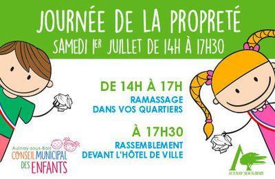 Annulation de la journée de la propreté à Aulnay-sous-Bois