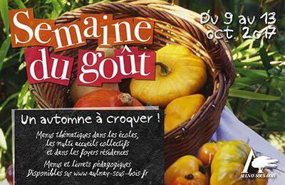 Semaine du goût 2017 à Aulnay-sous-Bois