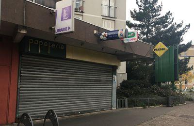 C'est fini pour la librairie papeterie du Vieux-Pays à Aulnay-sous-Bois