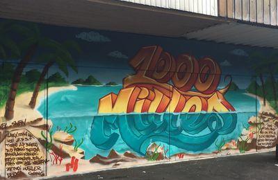 Une fresque et mille mille et un espoirs pour le quartier Mitry-Ambourget à Aulnay-sous-Bois
