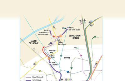 Les prolongements des lignes de transport du Grand Paris prennent l'eau …