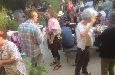Ce dimanche 21 mai c'était la fête annuelle du Jardin Guinguette de la Dhuys